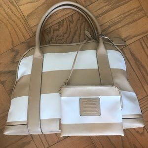 Coach Bleeker Striped Preston bag